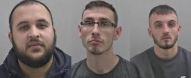 Redditch Advertiser: Hakim Aziz, Ashleigh Hammond, Bran Lloyd. Pic - West Mercia Police