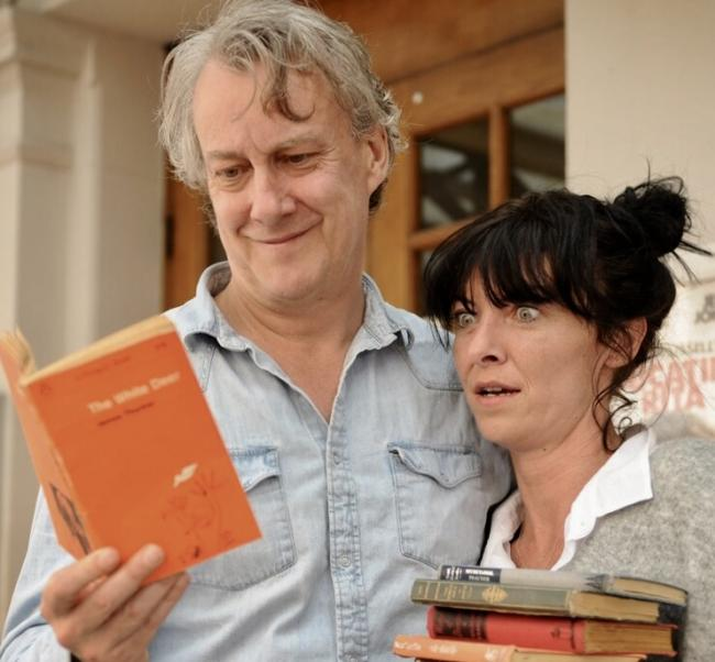 PERFECT PAIR: Stephen Tompkinson and Jessica Johnson are starring together in Educating Rita.