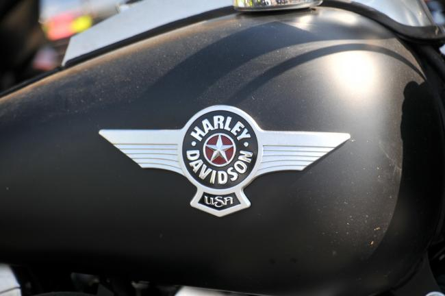 Shipley Harley Davidson 40th rally at Baildon.