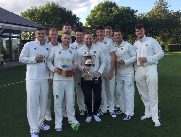 Astwood Bank celebrate their title victory