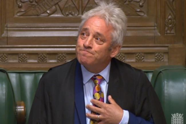 John Bercow to stand down