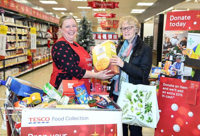 People are being asked to help make sure no one goes hungry this Christmas