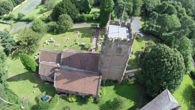 St Peter's Astley Parish Church is undergoing a major restoration programme