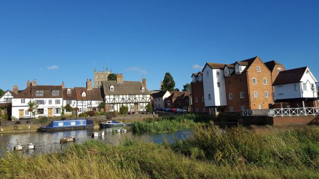Photo caption: Mill Avon at Tewkesbury. Picture: Christine Smith