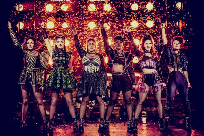 SONGIRDS`: Thr cast of Six, the hit musical.