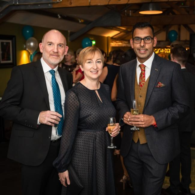 Left to right: Directors at Wrights, Stan Williets, Julia Allely and Pardeep Jassal.