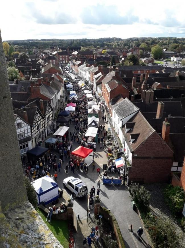 This year's event has been called the best yet. Photo: Alcester Food Festival