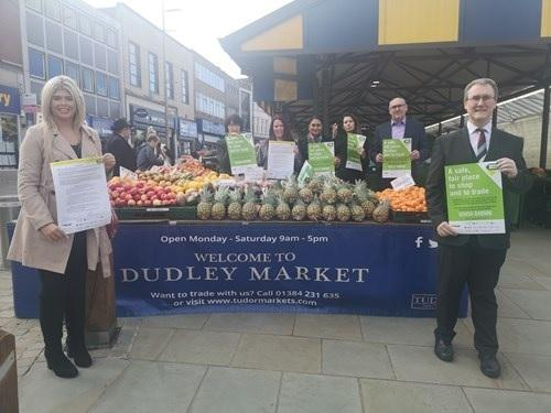 Tudor Markets, which run markets in Dudley and Stourbridge, have signed up to the charter