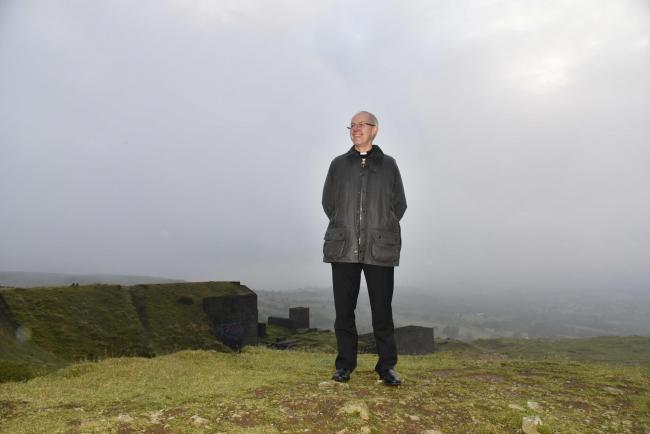 Archbishop Justin Welby on Clee Hill