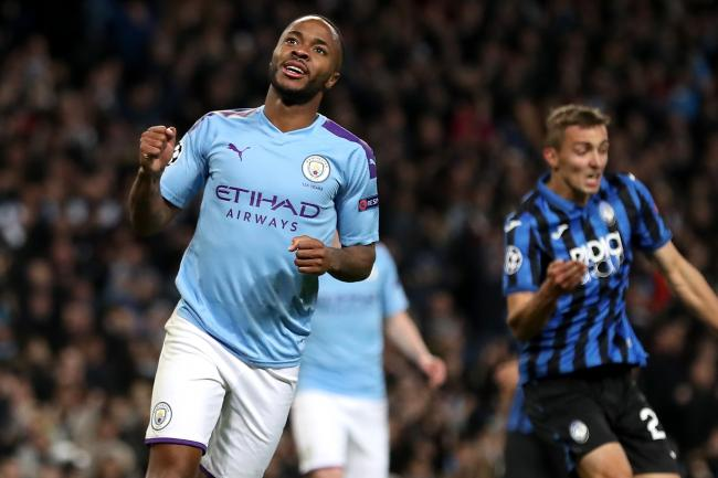 Raheem Sterling scored a hat-trick for Manchester City