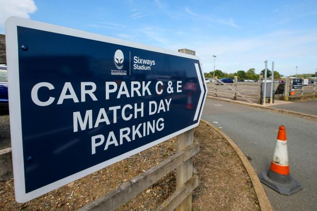 Sixways car park. Picture: Robbie Stephenson/JMP