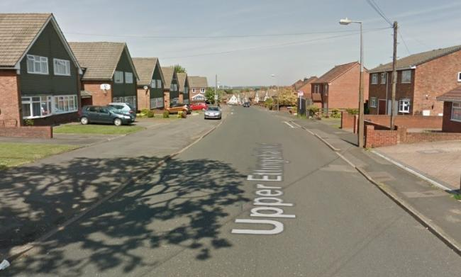 The teen was knocked off his bike on Upper Ettinghall Road. Image: Google Maps.