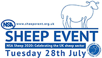Redditch Advertiser: The NSA Sheep Event logo