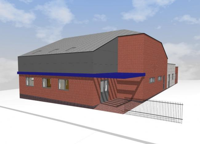 Plans for what the Lighthouse Centre will look like when it opens in February 2020.