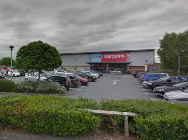 Home Bargains in Holmer Road, Hereford. Picture: Google