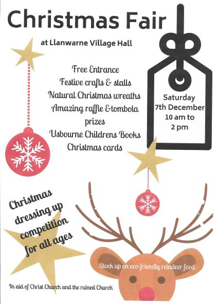 Llanwarne Christmas Fair