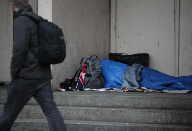 Redditch has been identified as having one of the highest levels of homelessness in the region. Photo by Yui Mok/PA