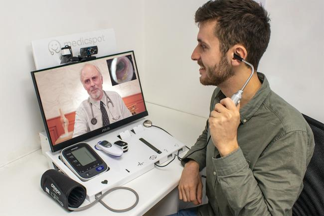 Medical firm Medicspot wants residents to examine themselves - and pay for it.