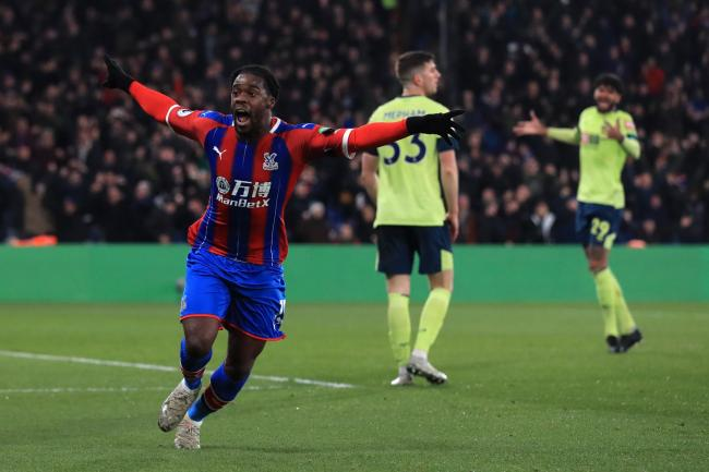 Crystal Palace's Jeffrey Schlupp scored his second goal of the season to earn a 1-0 win over Bournemouth