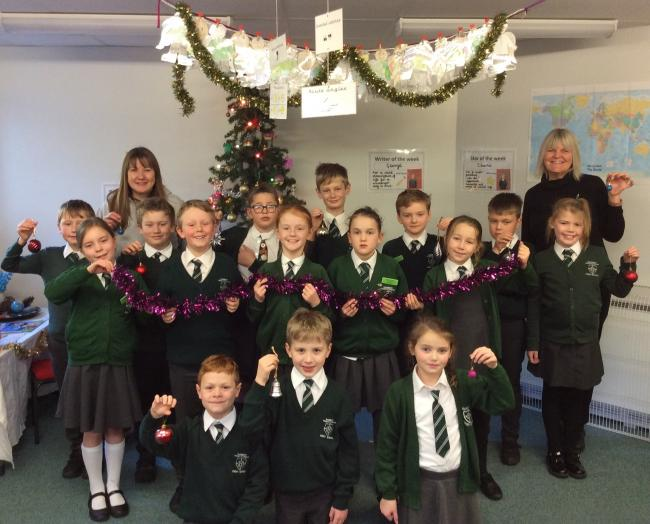 Pupils from Hanbury CE Primary school and Millfields First School will sing at a hospice Christmas party