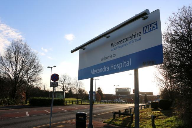 Alexandra Hospital in Redditch