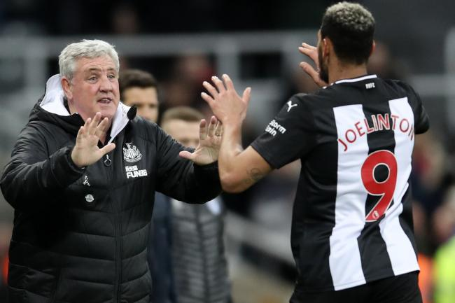 Steve Bruce hopes Joelinton can kick on after ending his goal drought against Rochdale