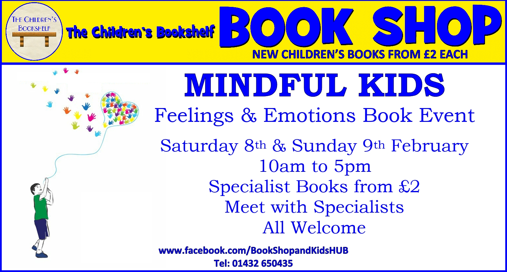 Mindful Kids - A Feelings & Emotions Book Event