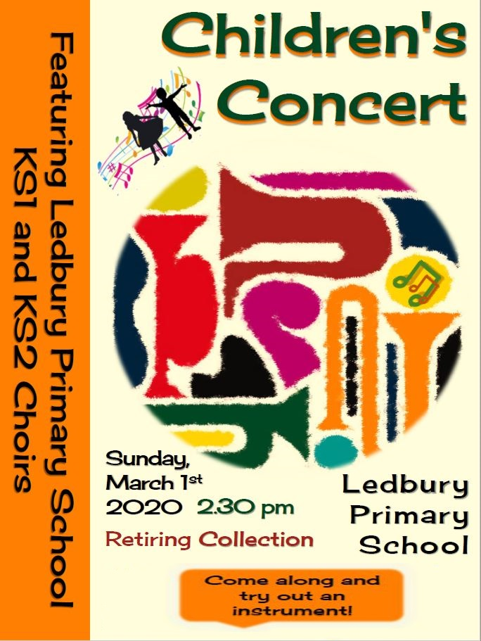Ledbury Primary School - Childrens Concert with Hereford Concert Band
