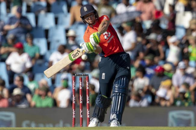 Jos Buttler hits out during Sunday's win over South Africa