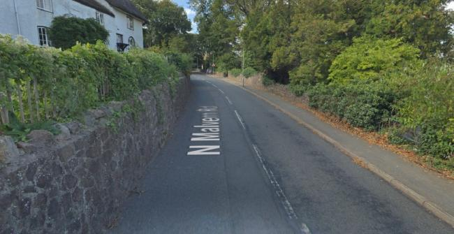 TRIAL: Usman Shazad was in a car that was pulled over in North Malvern Road. Picture: Google Street View