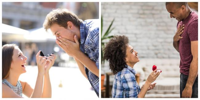 Why women can traditionally propose on February 29. Images: Getty