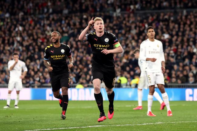 Kevin De Bruyne scored from the spot to give City a priceless lead
