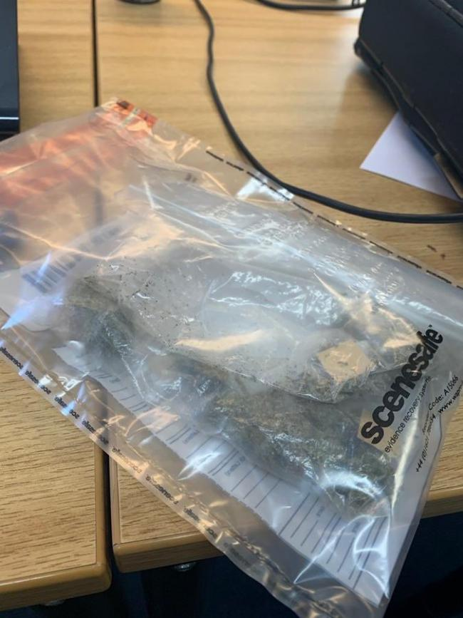 The drugs found by police. Photo: Twitter