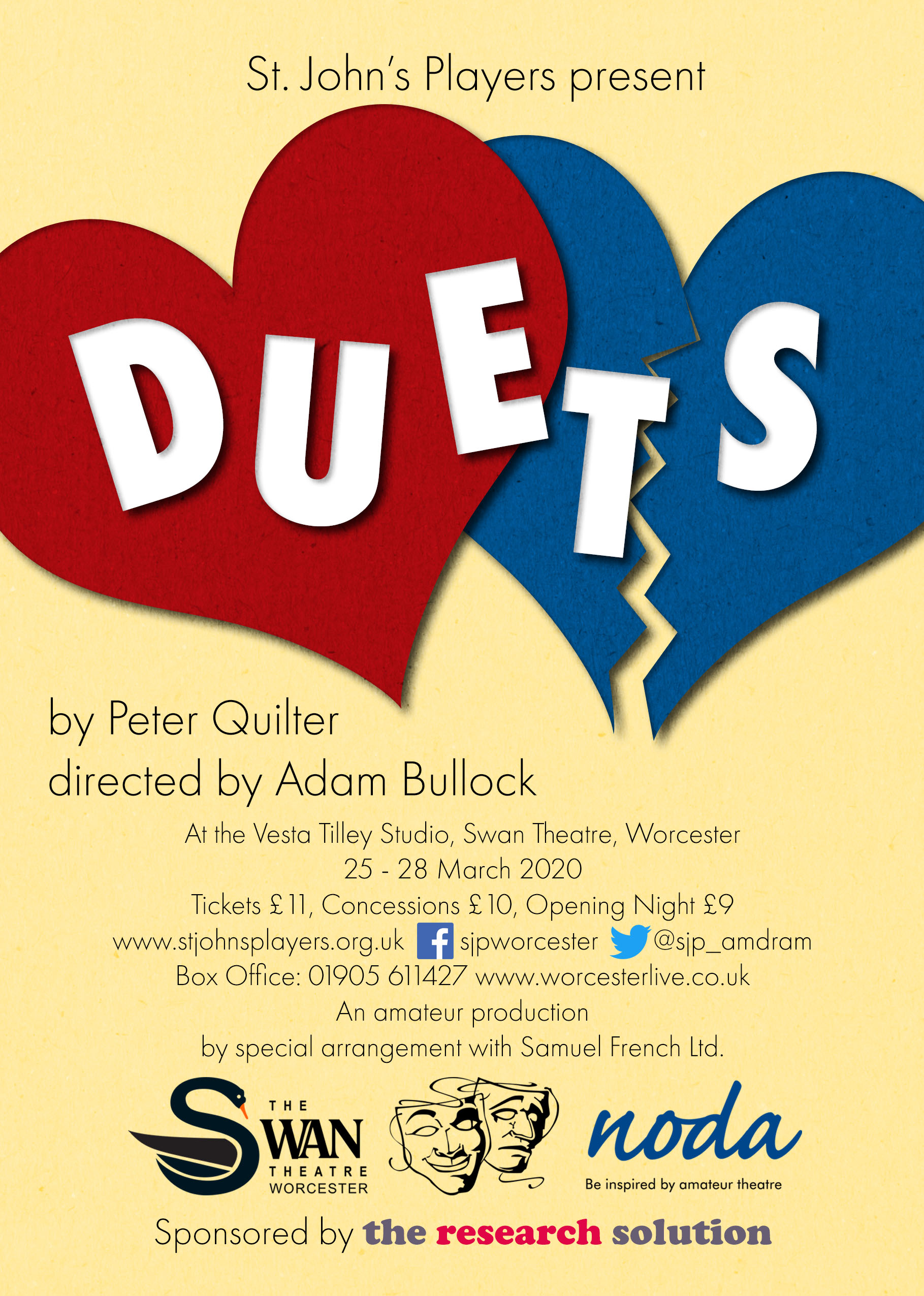 St John's Players present 'Duets'