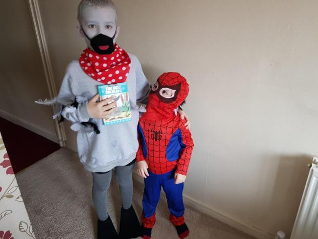 The ugly duckling and spiderman