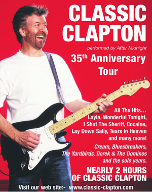 CLASSIC CLAPTON - 35th Anniversary Tour
