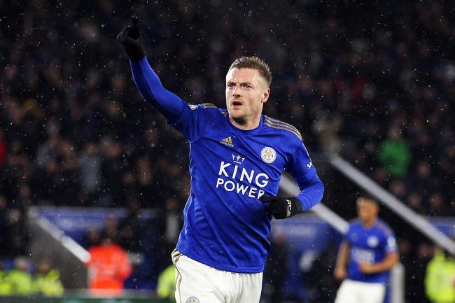 Jamie Vardy was among those to pay tribute