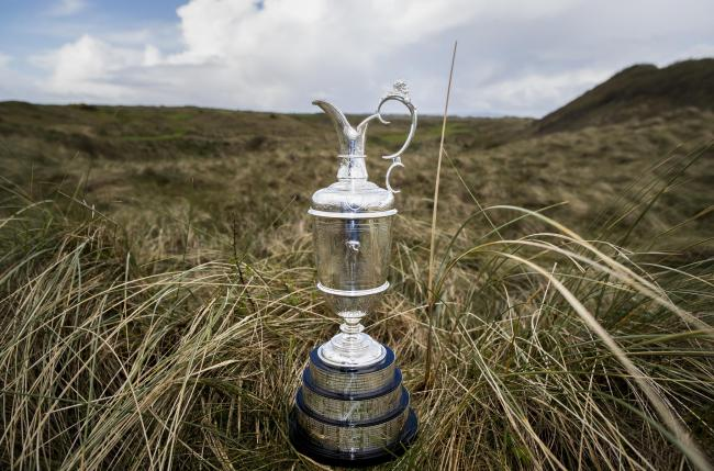 The Claret Jug will not be contested this year