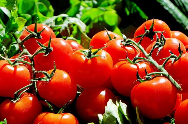 Spring vegetables such as tomatoes. Picture: Pixabay