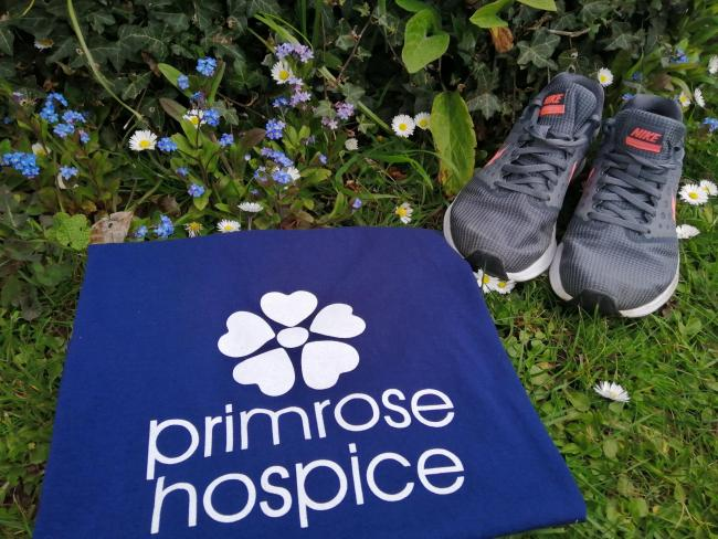 Pace for Primrose virtual fundraiser