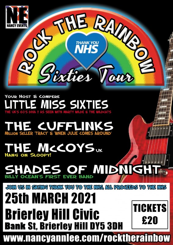 Rock the Rainbow, Thank you NHS tour