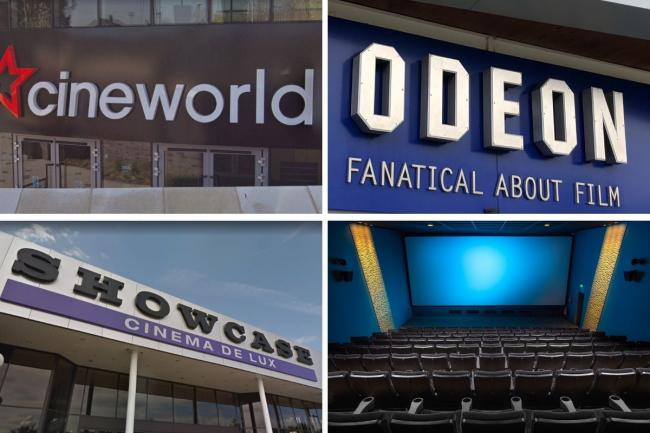 Cineworld, Odeon, Showcase and Picturehouse Cinemas confirm they'll reopen in July