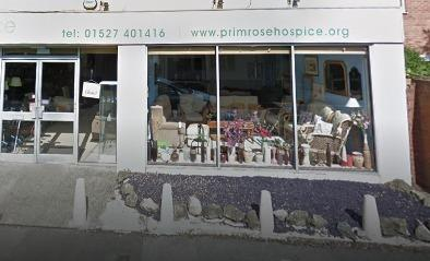 Primrose Hospice shop on Evesham Road. PIC: Google