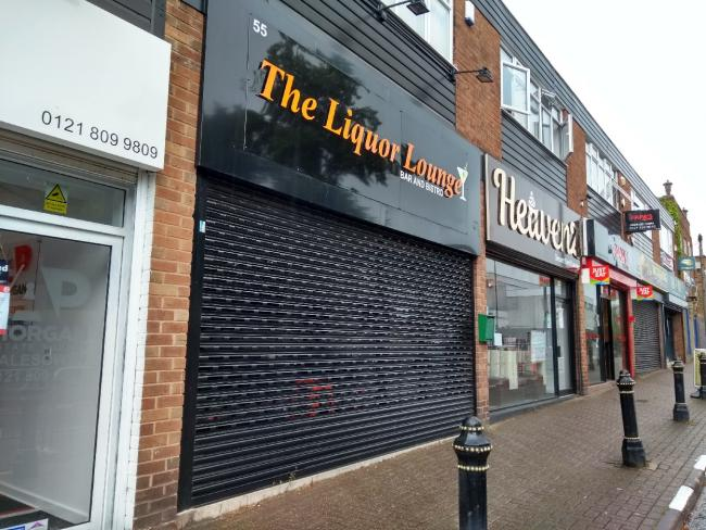 Liquor Lounge on Halesowen High Street
