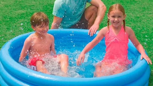 Redditch Advertiser: Lower your body temp with this inflatable pool. Credit: Intex