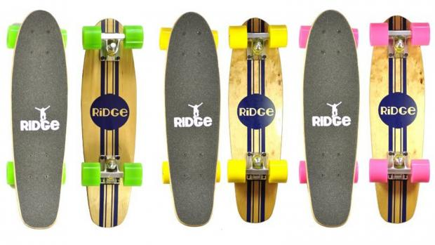 Redditch Advertiser: Whether you're learning to skate for the first time or returning to the habit, this board is a great way to do it. Credit: Ridge Skateboards / Amazon