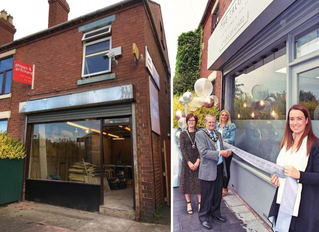 The old newsagents in Areley Kings has been transformed into a hair and beauty salon