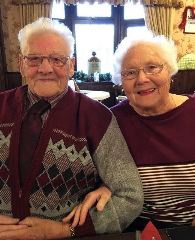 Joan and Jack Westwood, from Gornal, celebrate their 70th wedding anniversary on July 14.