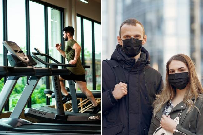 Why Gym-goers WON'T need to wear a face mask when they reopen. Picture: Newsquest