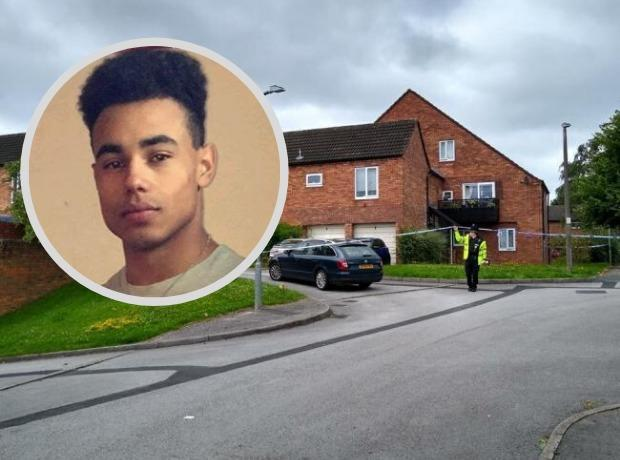 Colton Bryan was stabbed to death at his home in Guinness Close last week